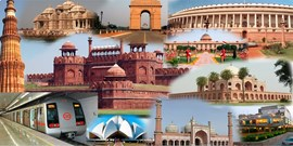 Delhi Agra Vrindavan Mathura Tour 8,500/- Per Person (For 6 Pax)